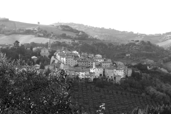 Veduta di Cartoceto