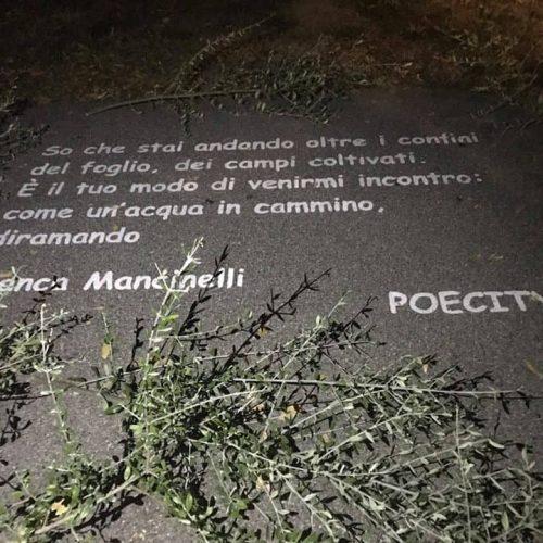 Poecity, Lungofiume Bisenzio, 2018